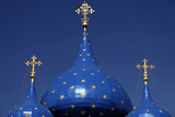 Blue Starred Domes  Cathedral of the Nativity of the Theotokos  Suzdal  Russia