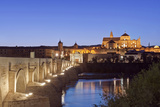 Roman Bridge  Catedral Mosque of Cordoba  Cordoba  Andalucia  Spain