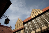 Half-Timbered Buildings  Castle Hill  St Servatius Church  Quedlinburg  Germany