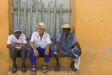 Men on the Street  Trinidad  Cuba