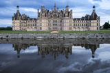 Castle  Chateau Chambord  Loire Valley  Central France