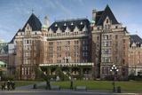 Fairmont Empress Hotel  Victoria  Vancouver Island  British Columbia  Canada