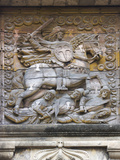 Bas Relief on Fort Gate of Fort Santiago  Fortification  Manila  Philippines