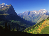 Autumn Near Logan Pass  Glacier National Park  Montana  USA