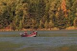 Fishing in the Kenai River  Kenai Peninsula  Alaska  USA