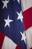 American Flag  Bellevue  Washington  USA