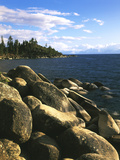 View of Lake Tahoe  Lake Tahoe Nevada State Park  Nevada  USA