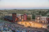 The Medora Musical Theatre in Medora  North Dakota  USA