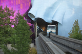 Monorail  Experience Music Project  Designed Frank Gehry  Seattle  Washington  USA