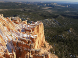 Yovimpa Point with Lower Forests  Bryce Canyon National Park  Utah  USA