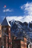 Main Street Buildings  Telluride  Colorado  USA