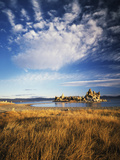 Tufa Rock Formation in Mono Lake  Eastern Sierra  California  USA