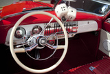 Dashboard at Classic Car Show  Kirkland  Washington  USA