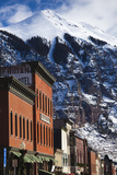 Main Street Buildings  Telluride  Colorado  USA