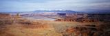 View of Canyonlands National Park  Utah  USA