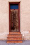 Barrio Vijo Door  Tucson  Arizona  USA