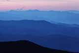 Ridges from Clingman's Dome  Great Smoky Mountains National Park  Tennessee  USA