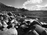 View of Lake Tahoe and Rocky Shoreline  Lake Tahoe Nevada State Park  Nevada  USA