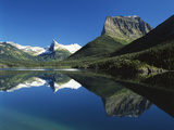 St Mary Lake  Glacier National Park  Montana  USA