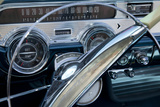 Detail at Classic Car Show  Kirkland  Washington  USA