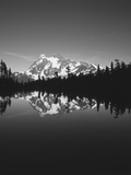 Mt Shuksan with Baker Lake  North Cascades National Park  Washington  USA