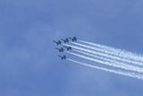 The Blue Angels  Airshow  SEAFAIR  F/A-18 Hornet Aircraft  Seattle  Washington  USA