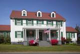 Umpqua River Lighthouse Museum  Us Coast Guard Station  Winchester  Oregon  USA