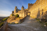 Medieval Town  Fortification  Carcassonne  Languedoc-Roussillon  France