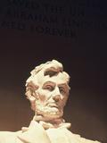 Lincoln Memorial  Abraham Lincoln Memorial Statue  Washington DC  USA