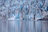 Ice Formations of the Shoup Glacier  Alaska  USA