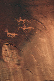 Petroglyph  Canyon De Chelly National Monument  Arizona  USA