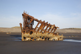 Shipwreck of the Peter Iredale  Fort Stevens State Park  Oregon  USA