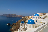 Oia on the Island of Santorini  Greece