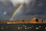 Wahweap Marina  Lake Powell  Glen Canyon National Recreation Area  Page  Arizona