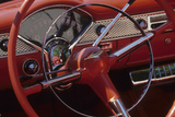Car Detail at Classic Car Show  Kirkland  Washington  USA
