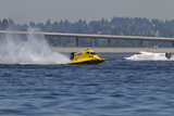 SEAFAIR  Formula One (F1) Outboard Racing Boats  Lake Washington  Seattle  Washington  USA