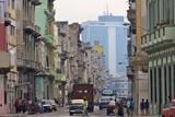 Old and New Buildings  Havana  UNESCO World Heritage Site  Cuba