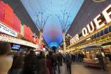 Fremont Street Experience Las Vegas  Nevada  USA