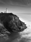 View of North Head Lighthouse  Oregon  USA