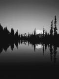 Upper Tipsoo Lake  Mount Rainier National Park  Washington  USA