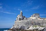 Church of San Pietro  Entrance to the Harbor  Portovenere  Italy