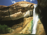View of Waterfall in Grand Staircase Escalante National Monument  Utah  USA