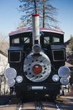 Manitou Springs  Pikes Peak Cog Railway  Locomotive Train  Colorado  USA