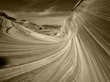 The Wave Formation in Coyote Buttes  Paria Canyon  Arizona  USA