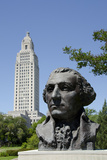 Old State Capitol Building  34-Story 'New' Building  Baton Rouge  Louisiana  USA