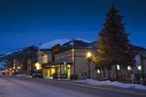 Historic Buildings Along Elk Avenue  Crested Butte  Colorado  USA