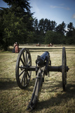 Cannon in Camp  Willamette Mission State Park  Brooks  Oregon  USA