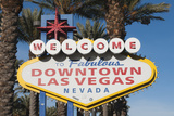 Welcome to Downtown Las Vegas Sign  Las Vegas  Nevada  USA