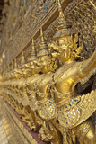 Royal Monastery of Emerald Buddha  Grand Palace  Wat Phra Keo  Bangkok  Thailand