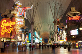 Fremont Street Experience Las Vegas, Nevada, USA Papier Photo par Michael DeFreitas